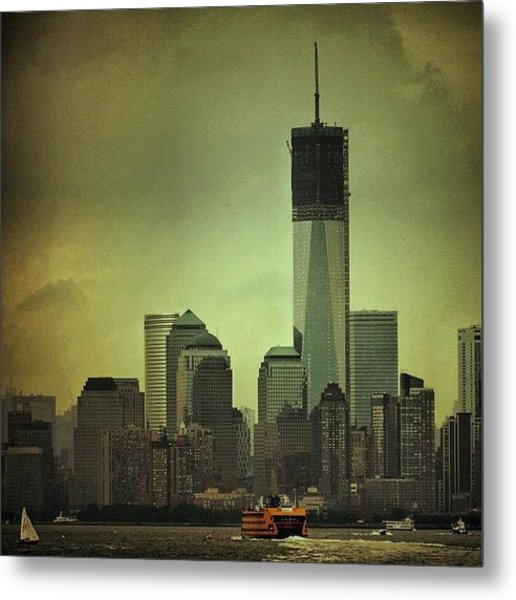 One Wtc Tower - New York Metal Print