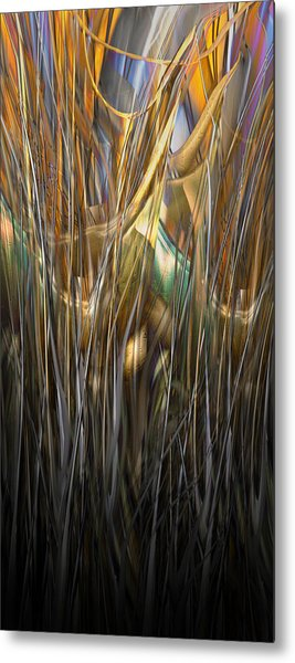 Onyx Growth II Metal Print