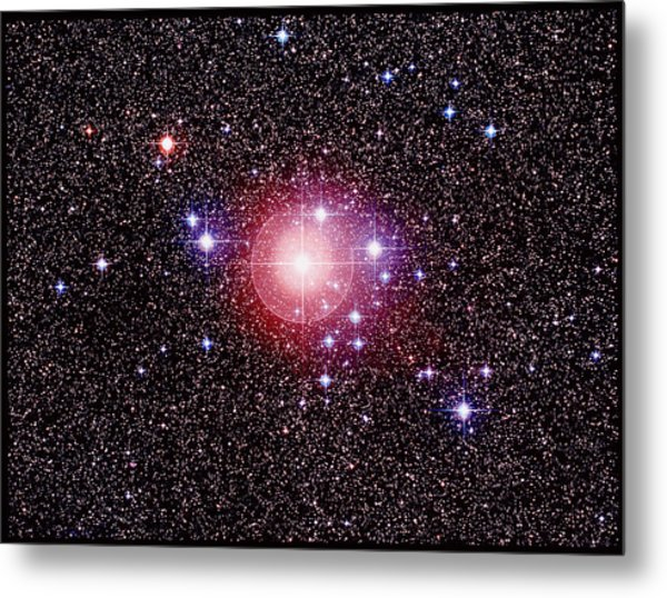 Open Star Cluster Ngc 2451 Metal Print by Celestial Image Co.