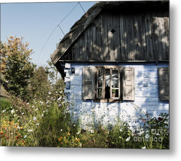 Open Window On Late Summer Afternoon Metal Print