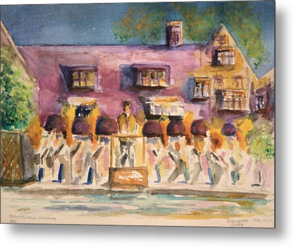 Orchestra Evening Gala At Ford House  Metal Print