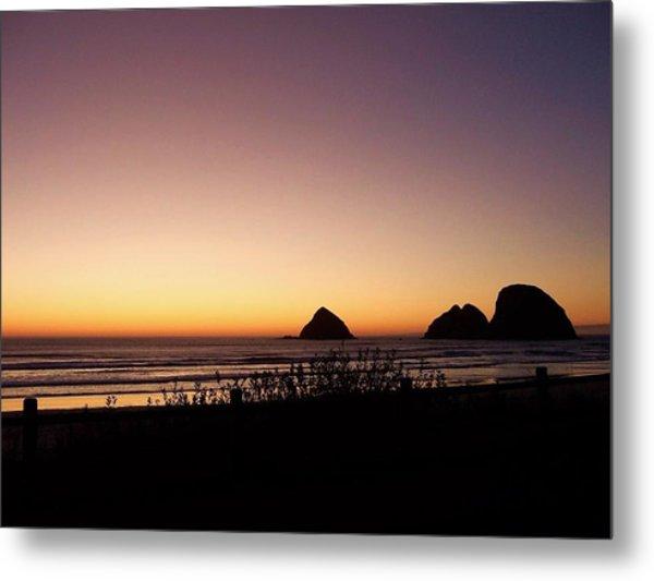 Oregon Coast 16 Metal Print
