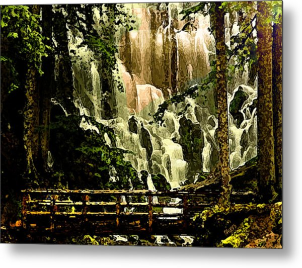 Oregon Wilds Metal Print