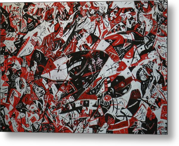 Organized Chaos Metal Print by Tyler Schmeling