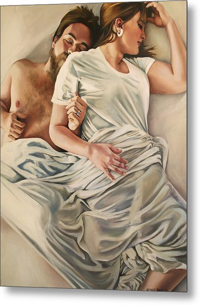 Origin Of Love #4 Metal Print by Emily Jones