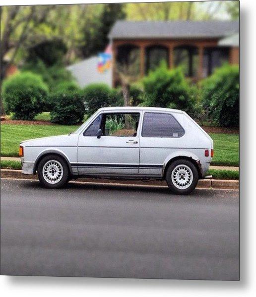 Original. #cars #vw #volkswagen #golf Metal Print