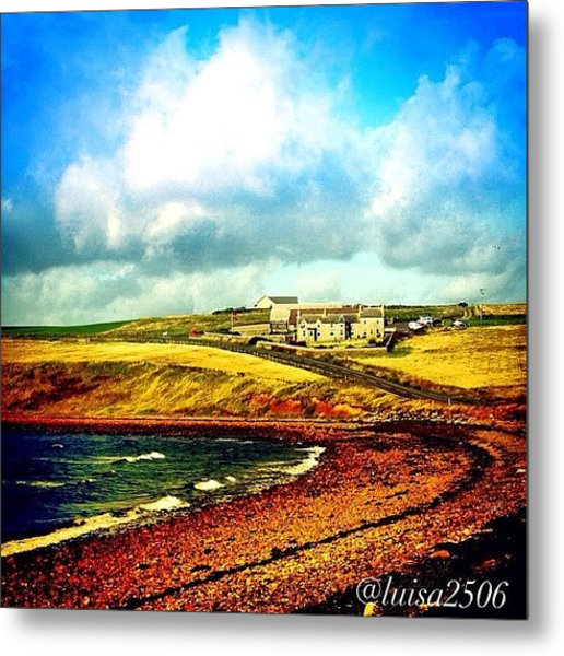 Orkney Island Metal Print