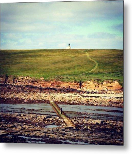 Orkney's Landscape Metal Print