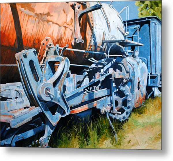 Out Of Gear Metal Print