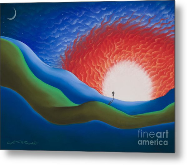 Out Of The Sun Metal Print