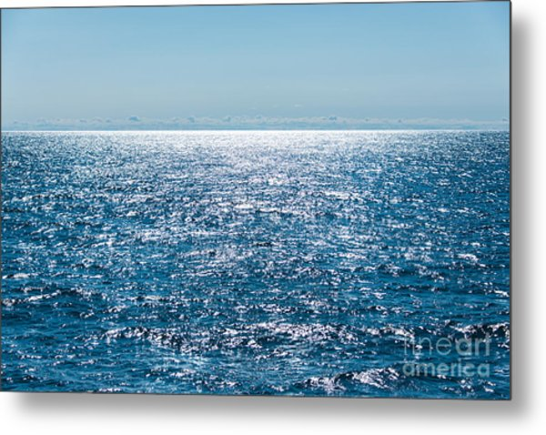 Out To Sea Metal Print by Christina Klausen