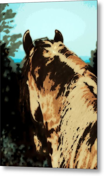 Over There Metal Print