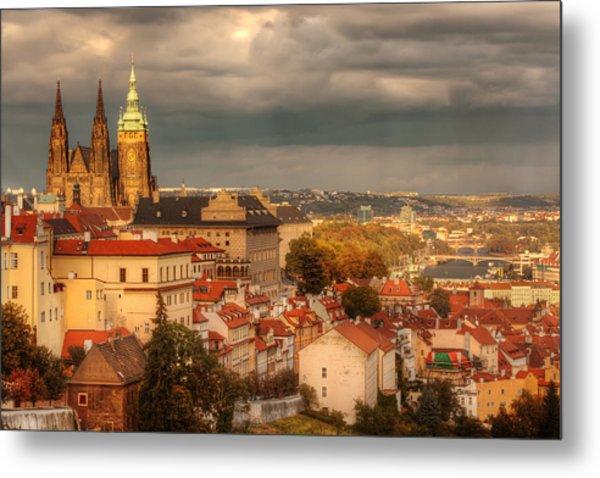 Overlook Prague Metal Print by John Galbo