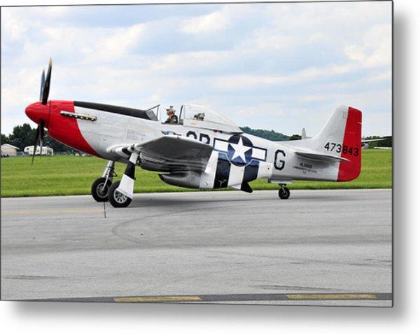 P-51d Mustang Metal Print by Dan Myers