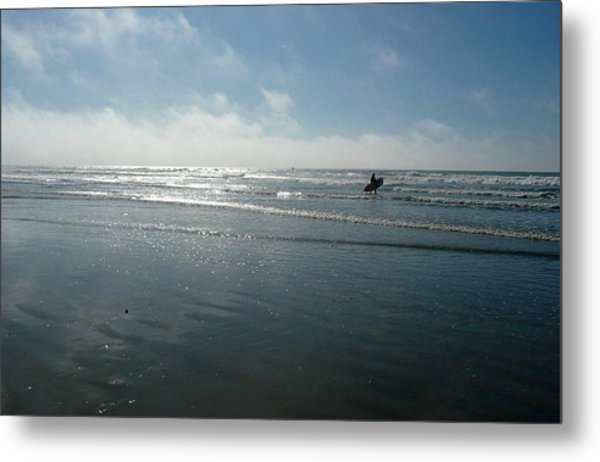 Pacifica Metal Print by E White