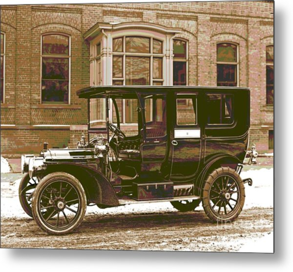 Packard Motor Car Company Automobile 1910 Colorized
