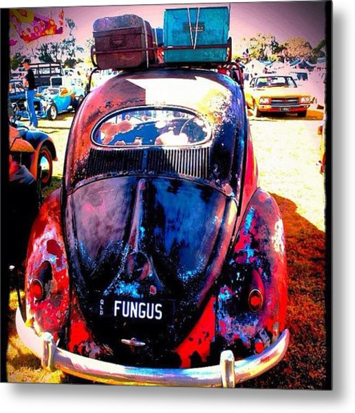 Packed & Ready To Go Metal Print