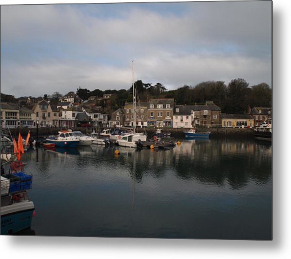 Padstow Harbour Metal Print by Christopher Mercer