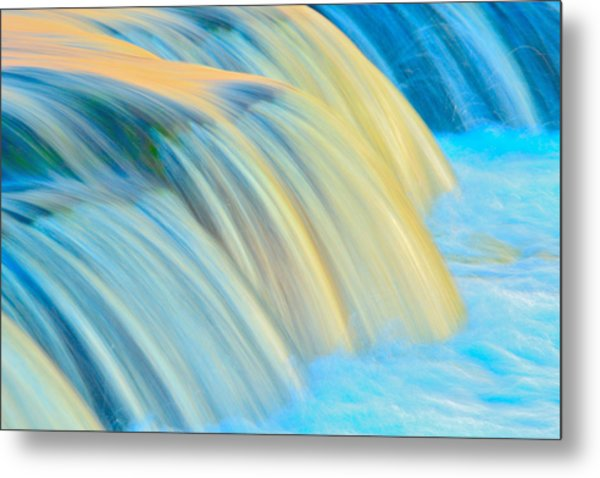 Painted Falls Metal Print