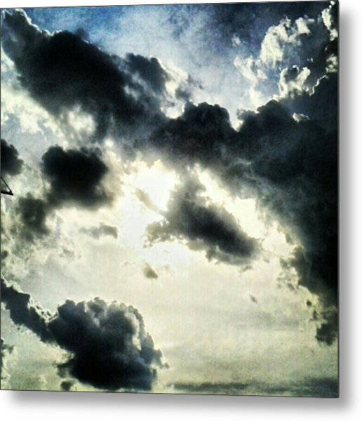 #painted #sky #instadroid #andrography Metal Print by Kel Hill