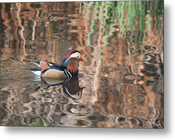 Painted Waters Metal Print