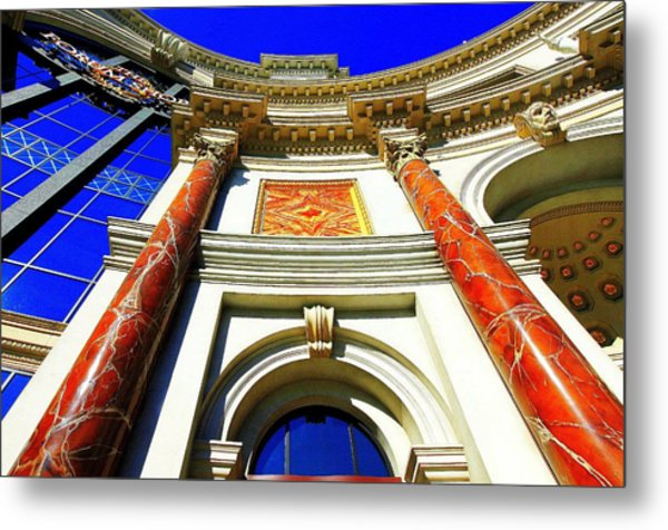 Palace Entrance IIi Metal Print