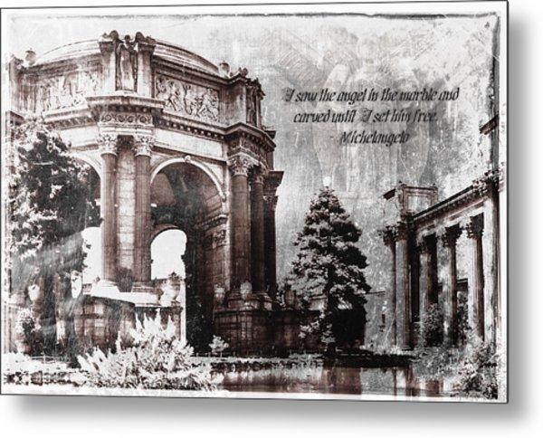 Palace Of Fine Arts Rotunda Metal Print