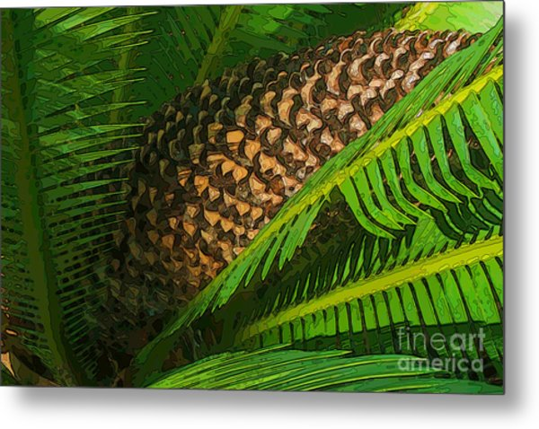 Palm Heart Metal Print