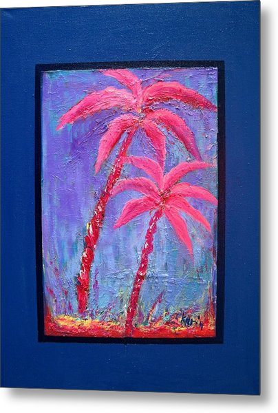 Palm Tree Series 14 Metal Print