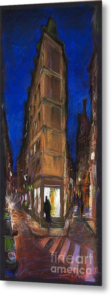 Paris Street 2 Metal Print
