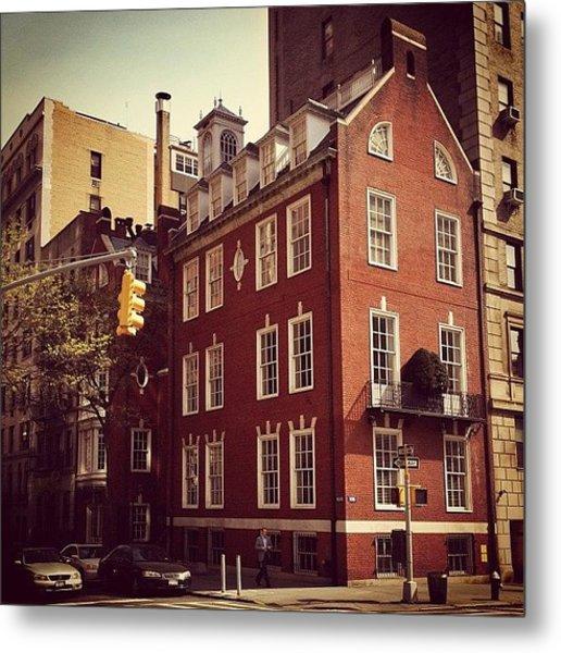 Park Avenue Architecture - New York City Metal Print
