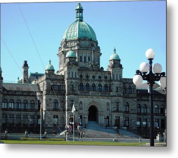 Parliament Victoria Metal Print