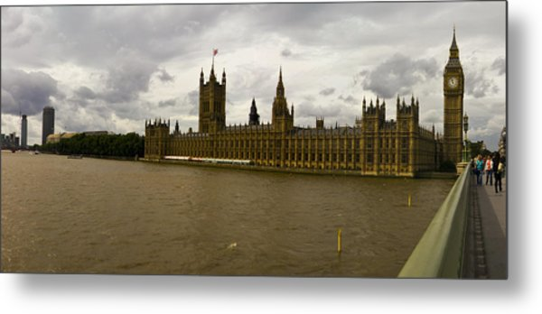 Parliment Metal Print by Keith Sutton