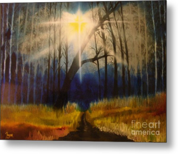 Path Of The Righteous Metal Print