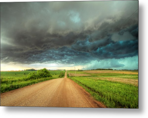 Path To Chaos Metal Print by Evan Ludes