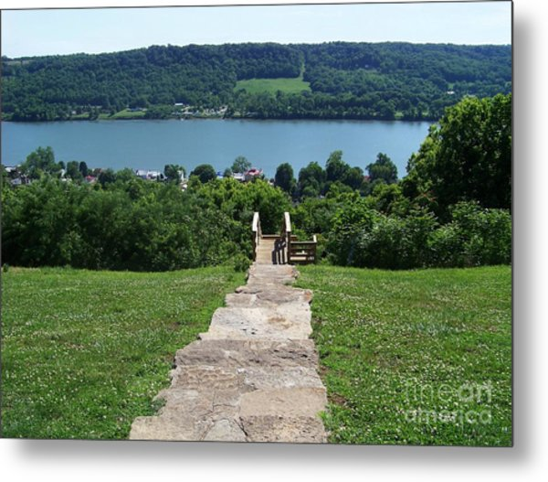Path To Rankin House Metal Print