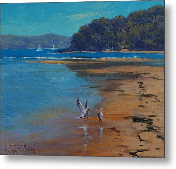 Patonga Beach Australia Metal Print