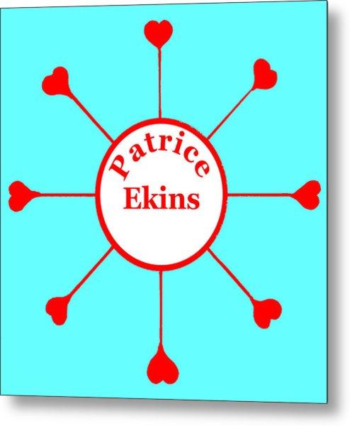 Patrice Ekins Metal Print