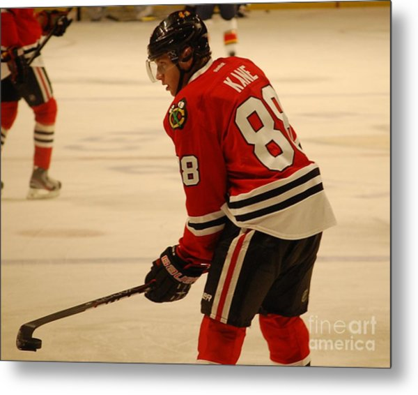 Patrick Kane - Chicago Blackhawks Metal Print