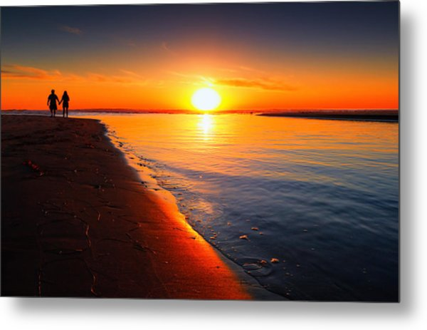 Peace And Tranquility Metal Print by Donna Pagakis