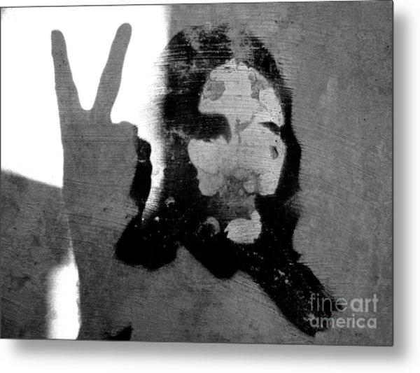 Peace Man Peace Metal Print