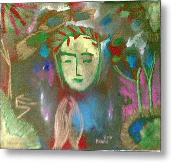 Peace.. Metal Print by Rooma Mehra