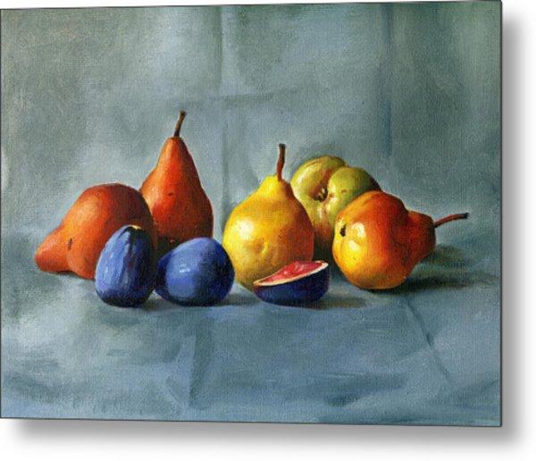 Pears Metal Print by Tatyana Holodnova