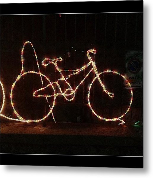 Pedal Power #photooftheday #clubsocial Metal Print