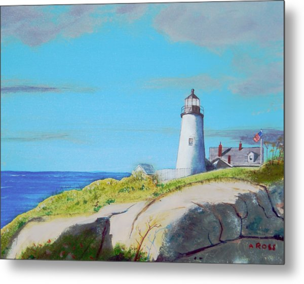 Pemaquid Point Light Metal Print