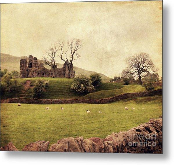 Pendragon Castle Metal Print
