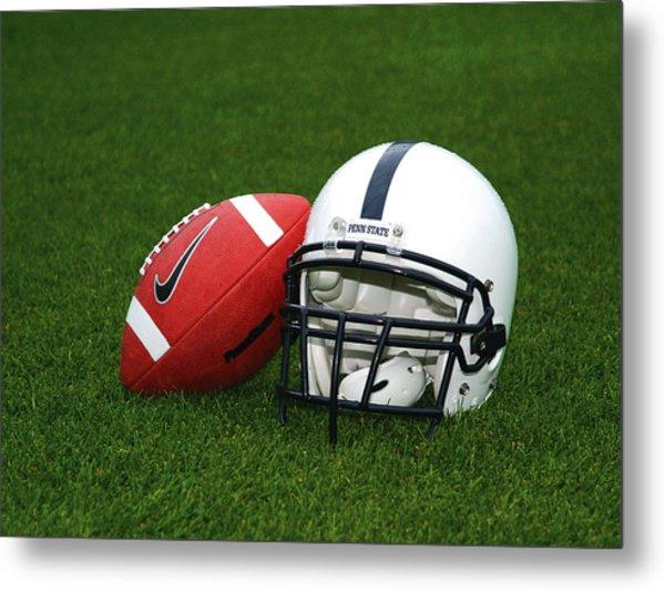 Penn State Football Helmet Metal Print