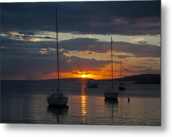 Perfect Ending In Puerto Rico Metal Print