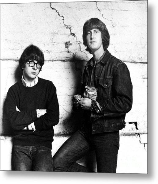 Peter And Gordon 1964 Metal Print by Chris Walter