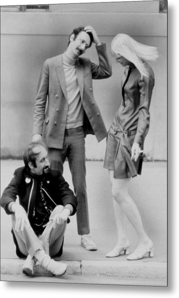 Peter, Paul And Mary Metal Print by Everett